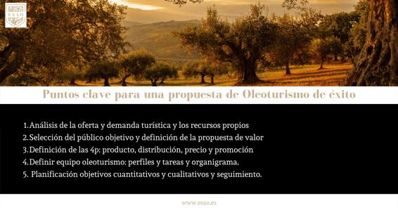 Oleoturismo 5 puntos claves