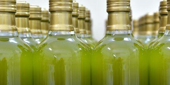 botellas envasado aove