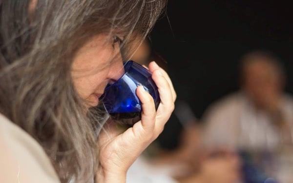 olive oil taster olive oil sommelier olfactory sense smell olive oil cup